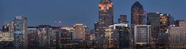 DFW Skyline at Night