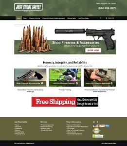 Online eCommerce Firearms Website using WordPress