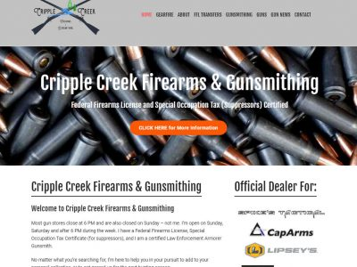 Cripple Creek Firearms Gunsmithing